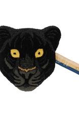 Doing Goods Black Panter Head Rug