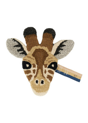 Doing Goods Giraffe Head Rug