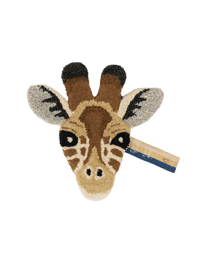 Doing Goods Giraffe Head Rug