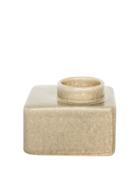 Urban Nature Culture Stone Wax Light Holder
