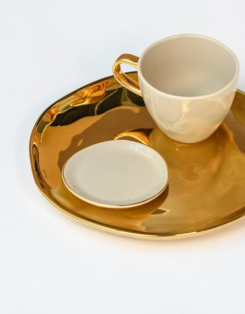 Urban Nature Culture Good Morning Plate Gold (M)
