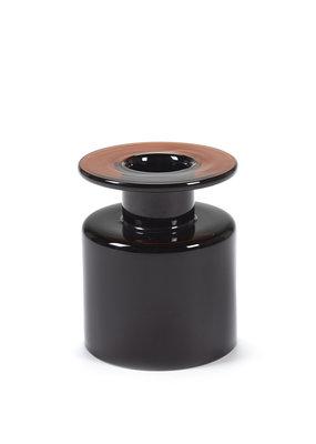 SERAX Wind & Fire Vase - Dark Brown (S)