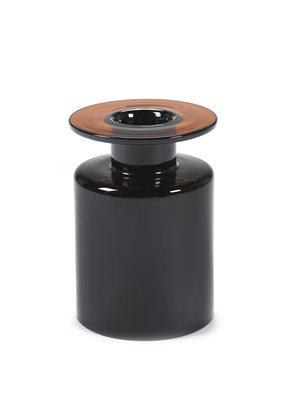SERAX Wind & Fire Vase - Dark Brown (M)