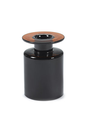 SERAX Wind & Fire Vase - Dark Brown (M)