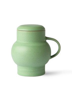 HKLiving Ceramic Bubble Tea Mug Mint