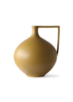 HKLiving Ceramic Jar Mustard