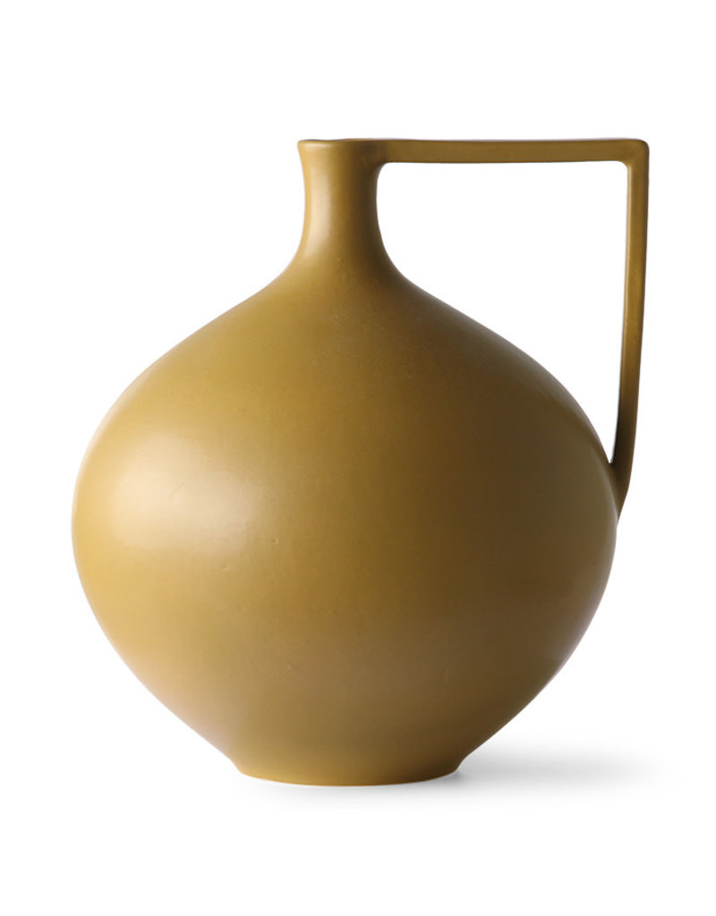 HKLiving Ceramic Jar Mustard