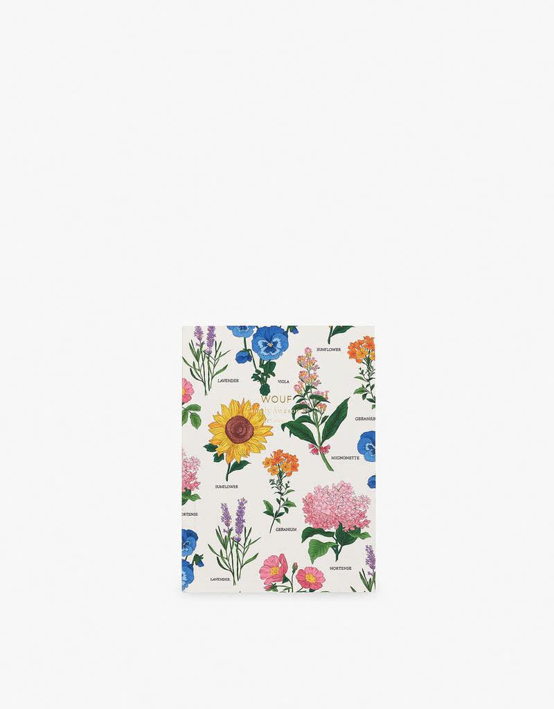 WOUF Notebook A6 Botanic