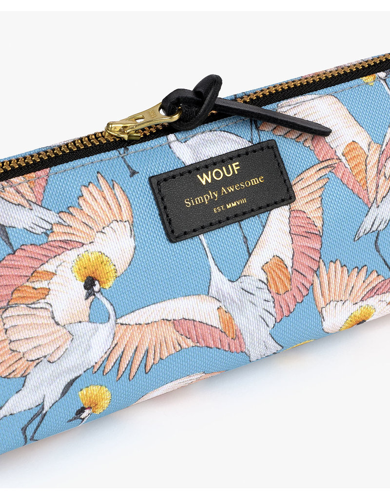 WOUF Pencil Case Imperial Heron