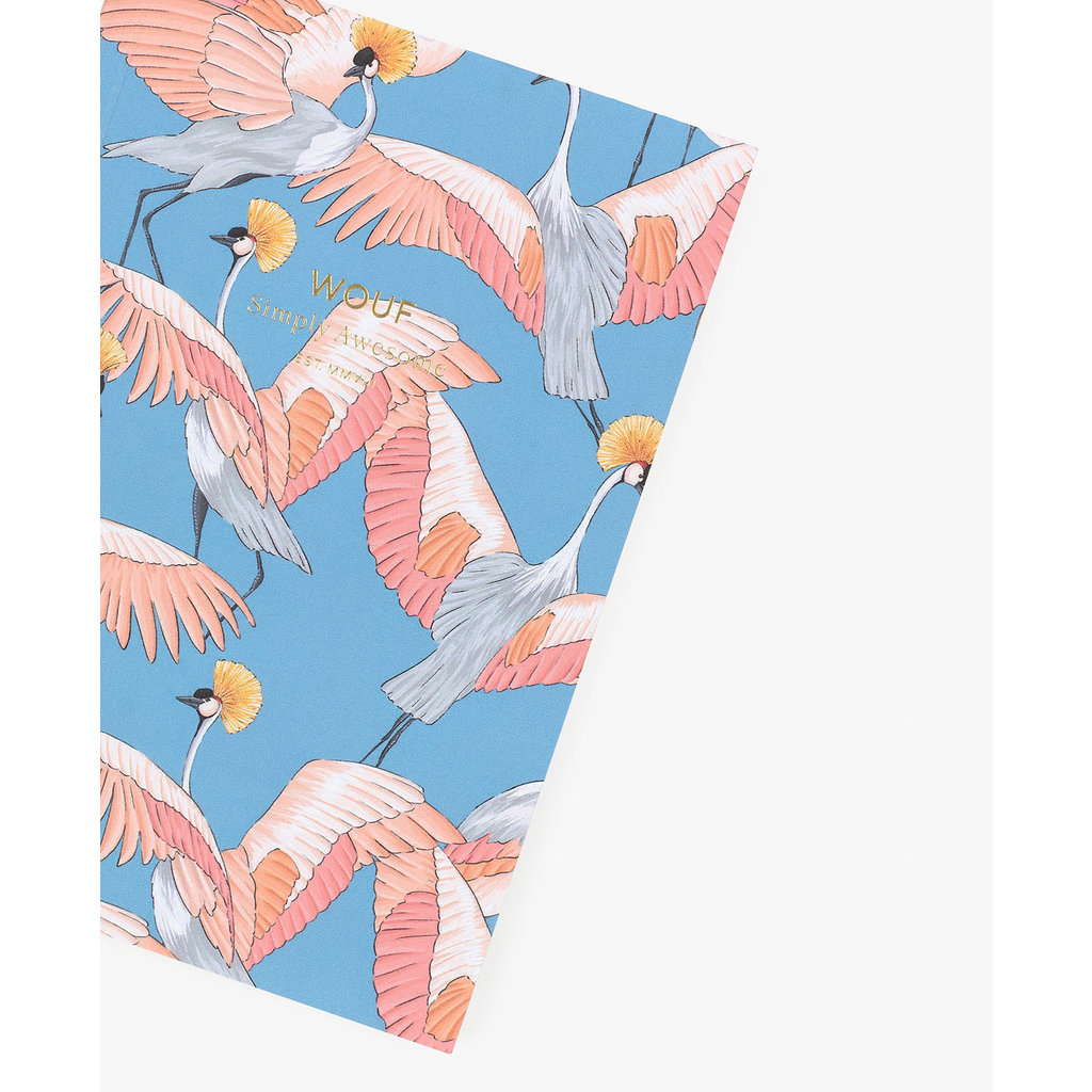 Notebook A6 Imperial Heron