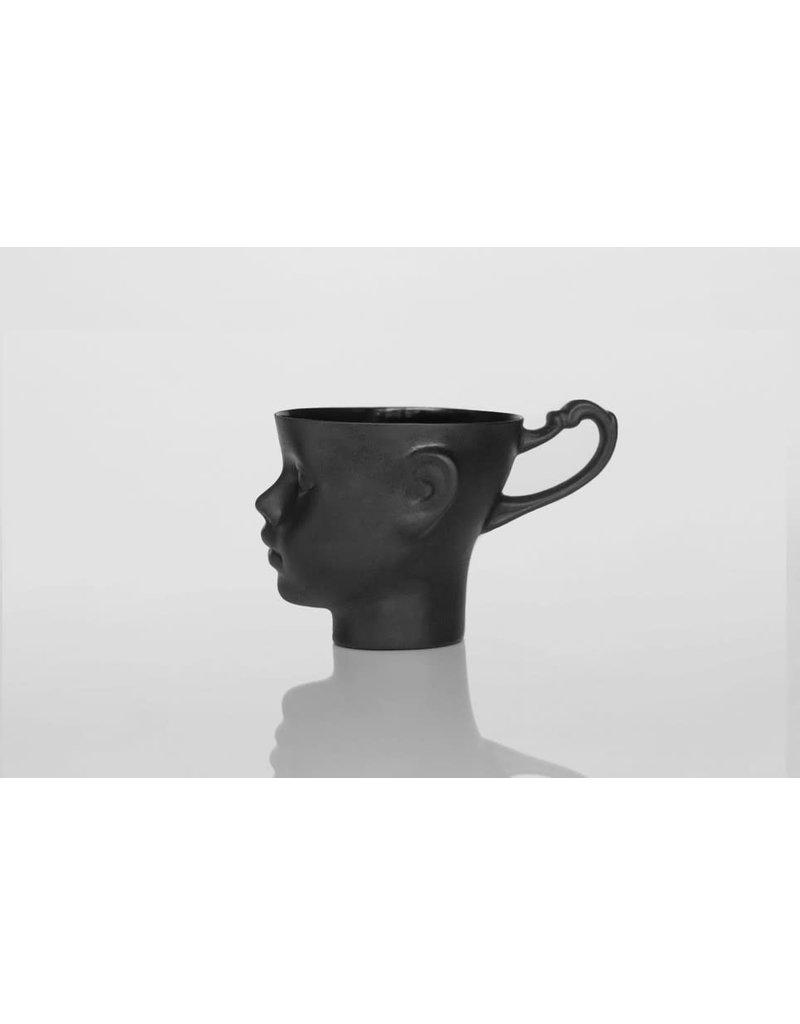 ENDE Doll Head Mug Black