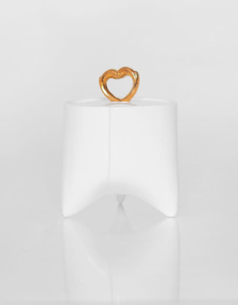 ENDE Sugar Bowl With Gold