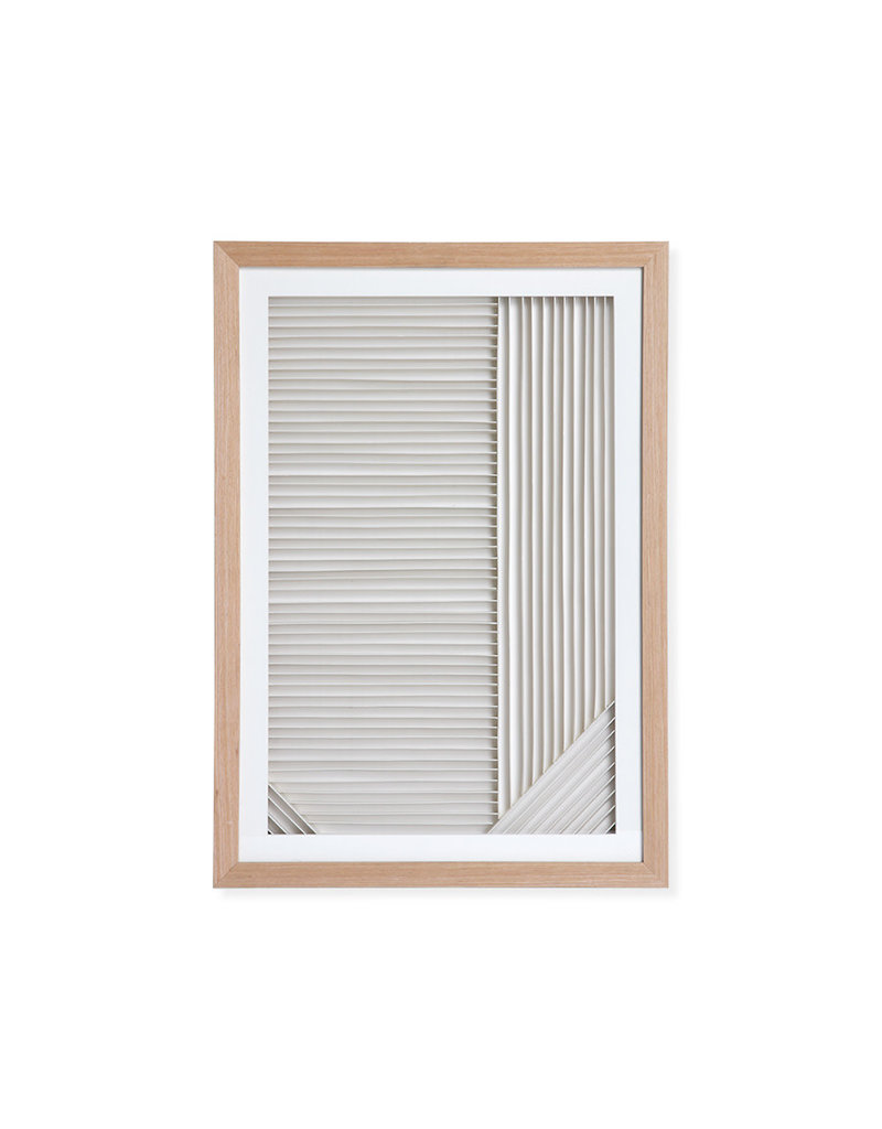 HKLiving Layered Paper Art Frame A