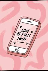Kaart Blanche Love at first swipe