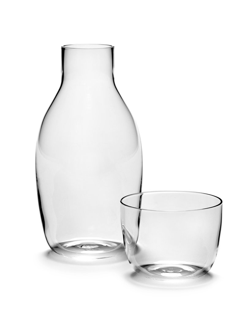 SERAX Carafe & Glass VVD