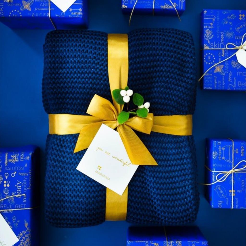 Magical Blue Blanket