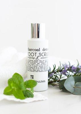 RainPharma Charcoal Detox Foot Scrub 100ML