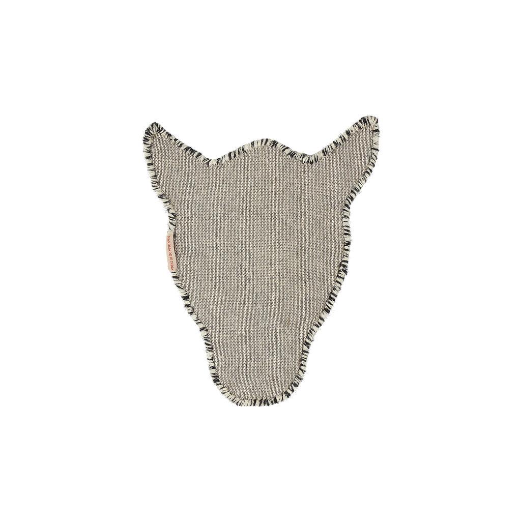 Zebra Head Rug