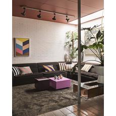 Velvet Striped Cushion