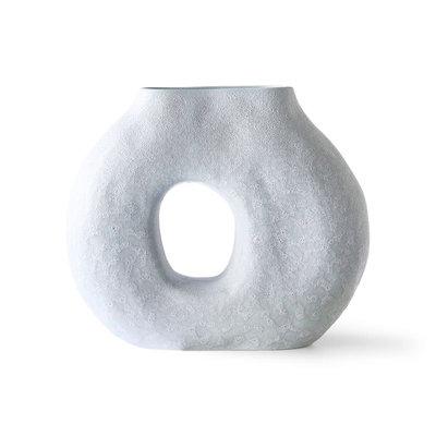 Circle Vase Ice Blue