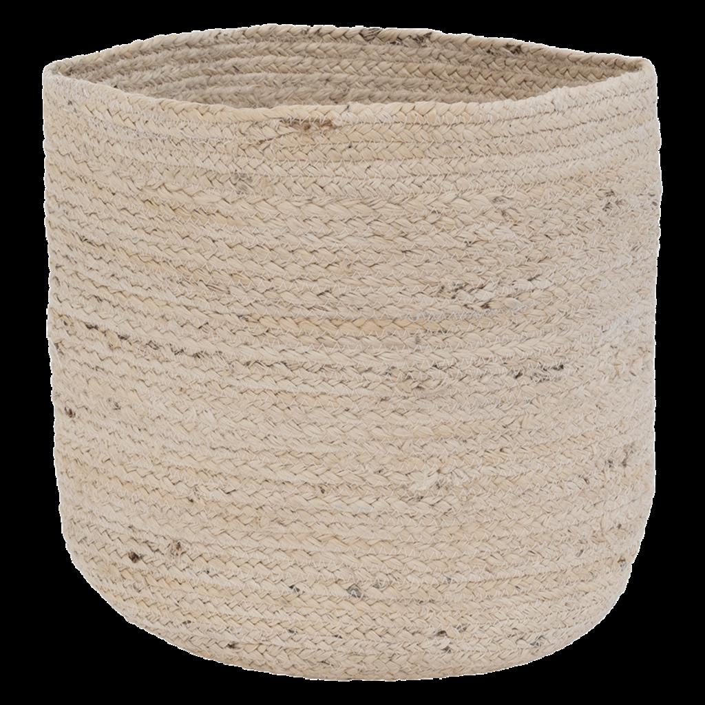 Storage Basket Jute Blond