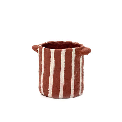 Plant Pot Earth Red A