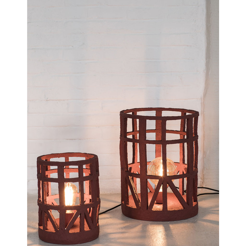 Standing Lamp Earth Red