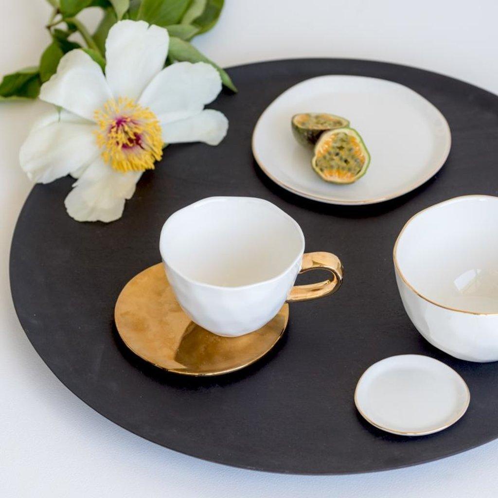 Good Morning Plate White (M)