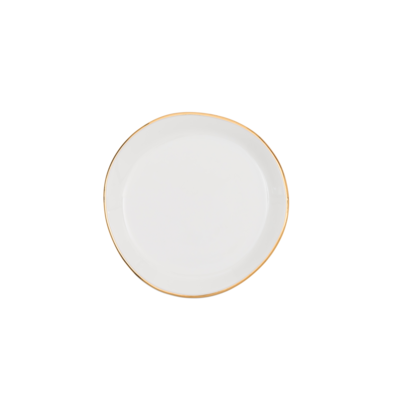 Good Morning Plate White (S)