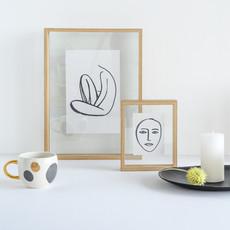 Floating Frame Wood (S)