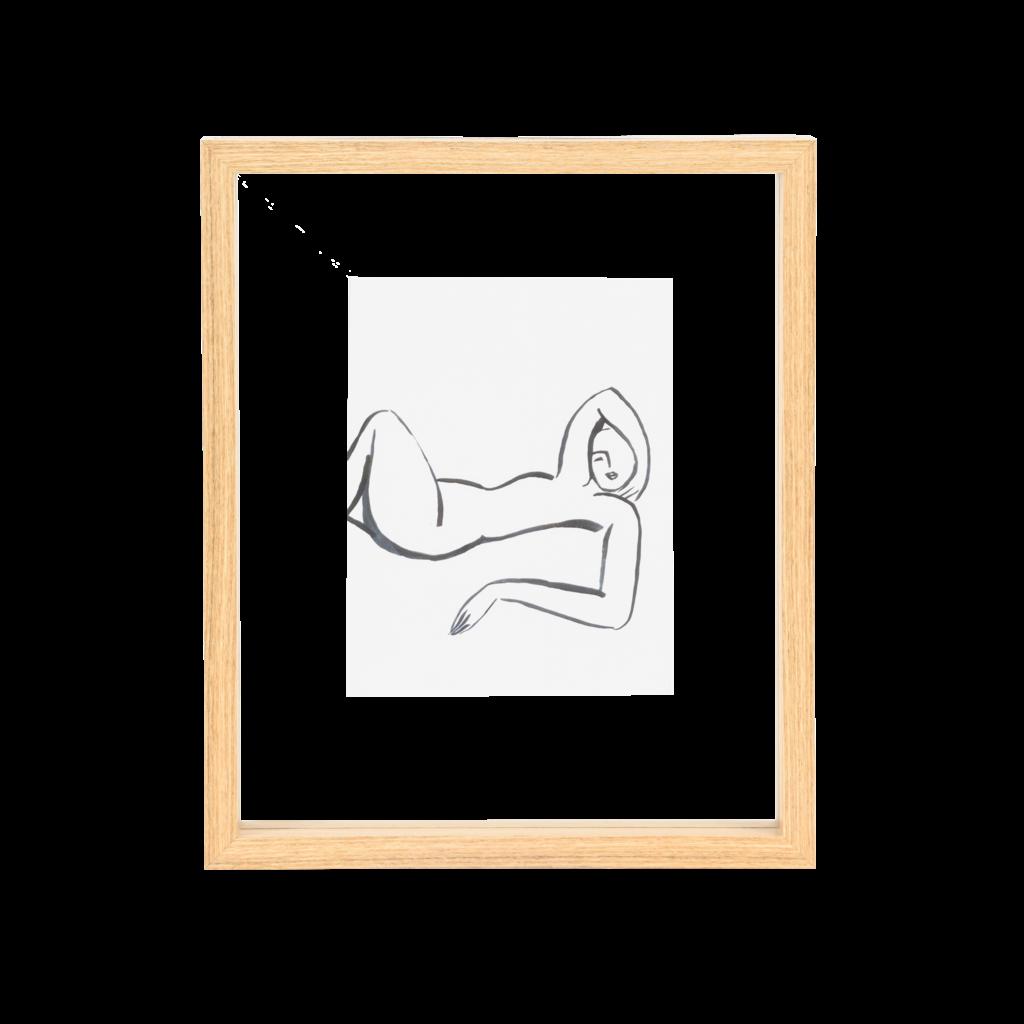 Floating Frame Wood (M)