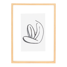 Floating Frame Wood (L)