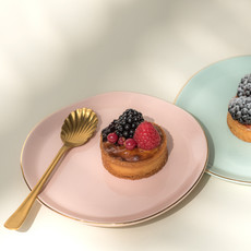 Good Morning Plate Pink (M)