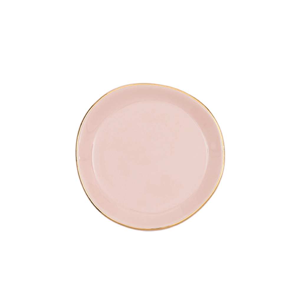 Good Morning Plate Pink (S)