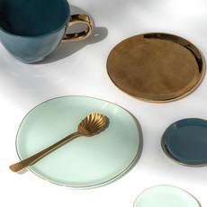 Good Morning Plate Mint (M)