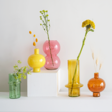 Vase Bulb Apricot