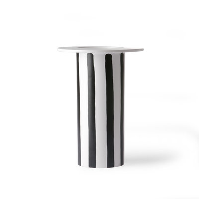 Vase Black White