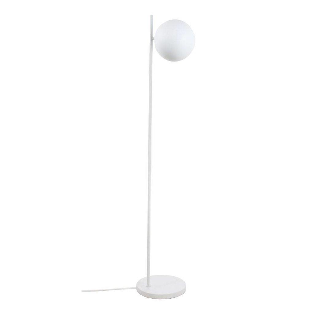 Metal Floor Lamp Ball Shade