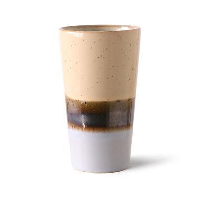 Latte Mug Lake 70's Ceramics