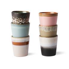 Coffee Mugs 70's Ceramics - Set A