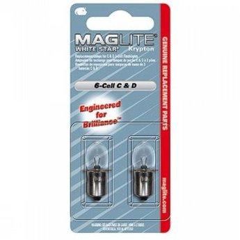 Maglite Reservelamp 6C/D Cell