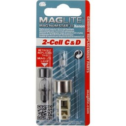 Maglite MAG-NUM STAR II Xenon 2-cell C&D