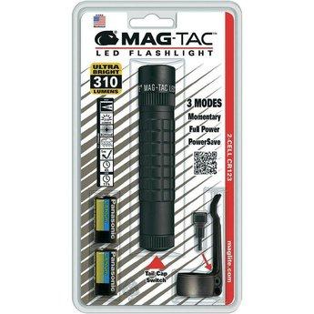 Maglite MAG TAC Plain Bezel LED Zwart