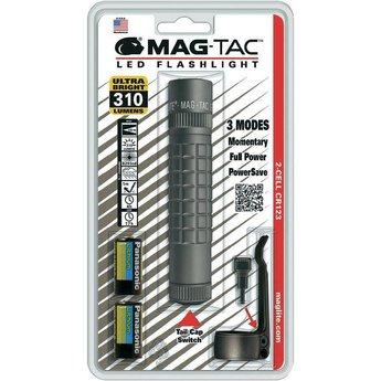 Maglite MAG TAC LED Plain Bezel Grijs