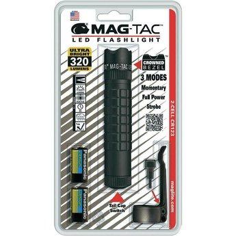 Maglite MAG TAC LED Crown Bezel Zwart