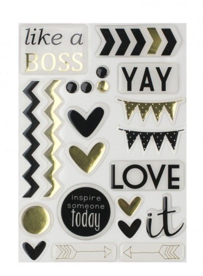 Vaessen Creative - Love It stickers