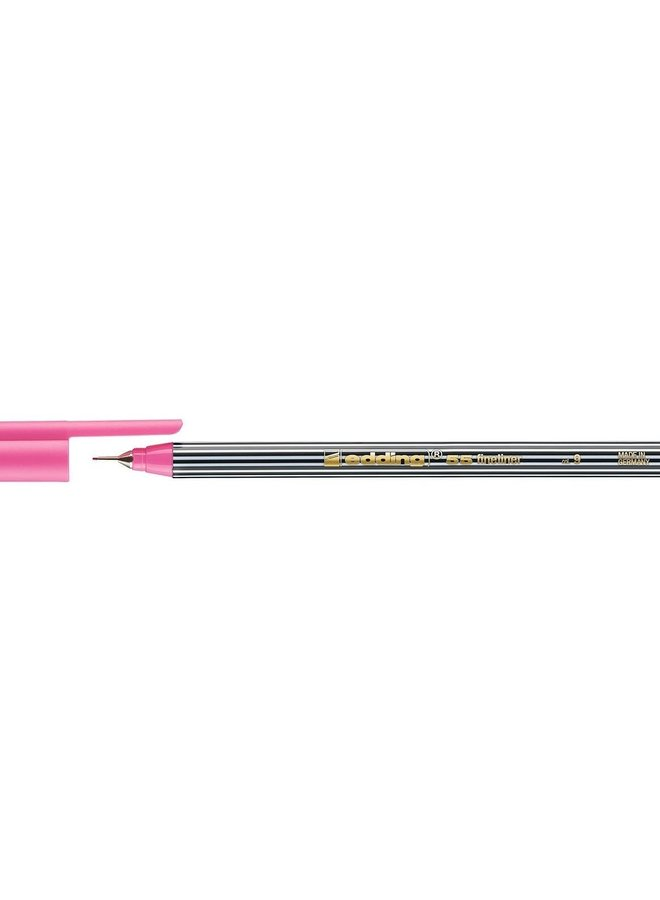 Edding 55 fineliner 0,3 mm rond roze (009)
