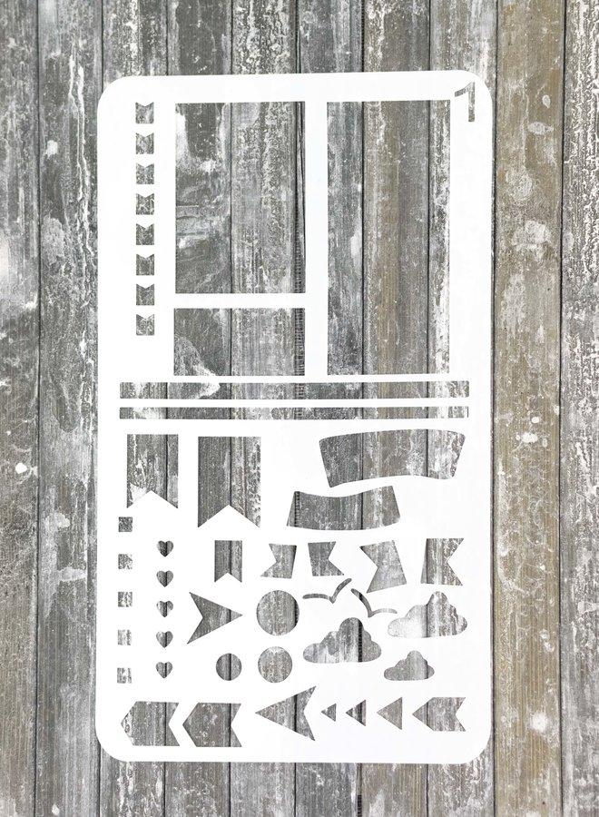 Bullet journal Stencil 1