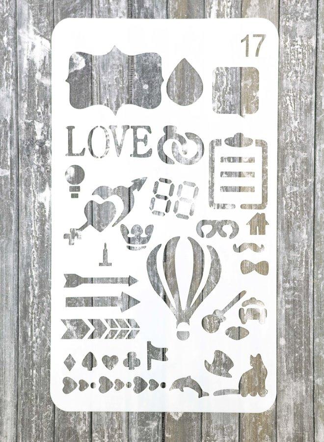 Bullet journal Stencil 17