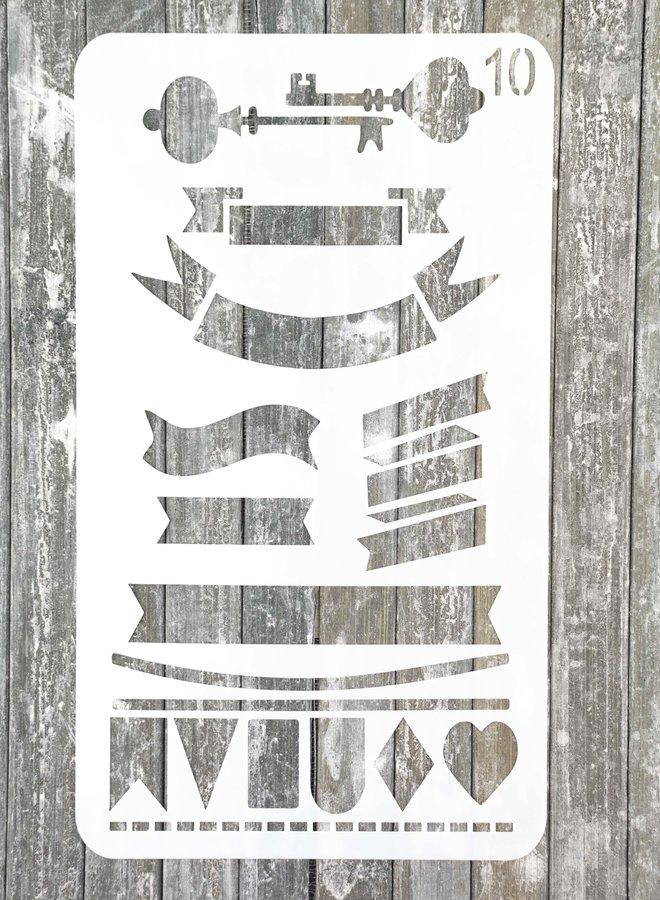 Bullet journal Stencil 10